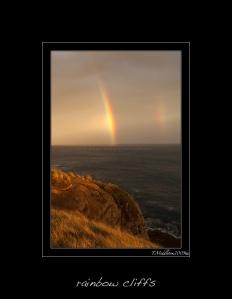 cliff rainbow